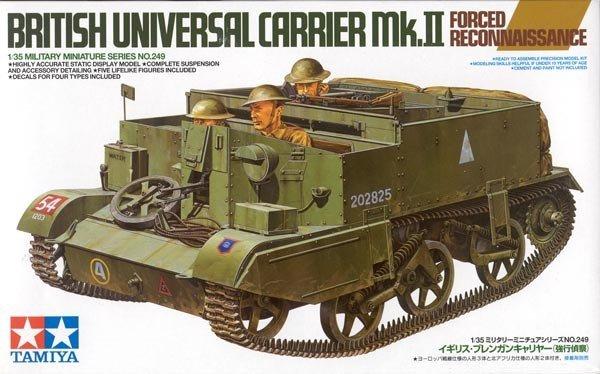 Tamiya 35249 British Universal Carrier Mk.II Forced Reconnaissance (1:35)