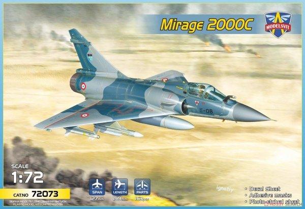 Modelsvit 72073 Mirage 2000C 1/72