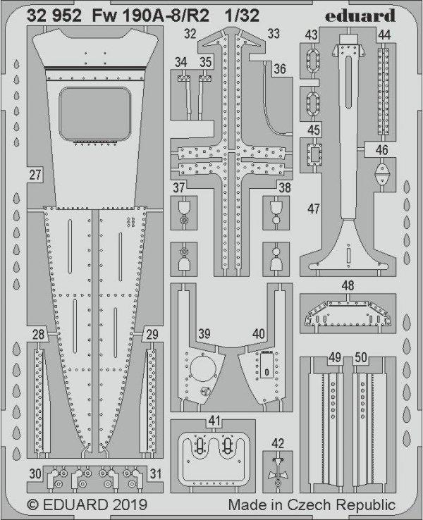 Eduard BIG33105 Fw 190A-8/ R2 1/32 REVELL