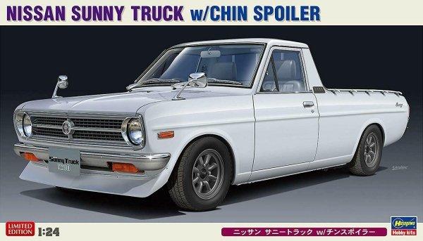 Hasegawa 20427 Nissan Sunny Truck w/Chin Spoiler 1/24