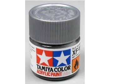 Tamiya XF16 Flat Aluminum (81716) Acrylic paint 10ml