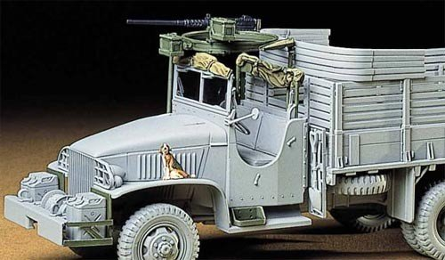 Tamiya 35231 U.S. 2 -Ton 6x6 Cargo Truck Accessory Parts Set (1:35)