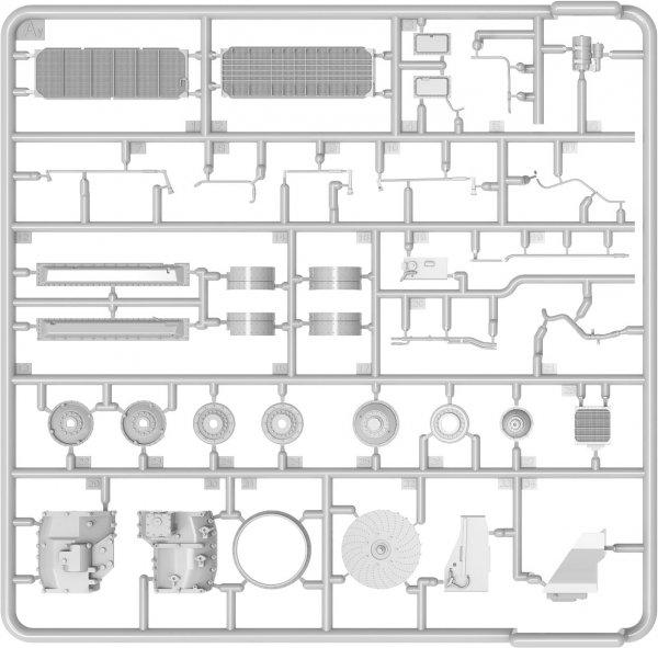 MiniArt 37066 T-54 LATE TRANSMISSION SET 1/35