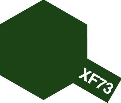 Tamiya XF73 Dark Green (JGSDF) (81773) Acrylic paint 10ml
