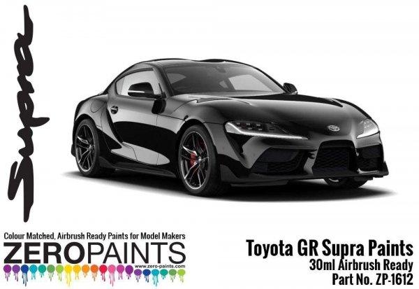 Zero Paints ZP-1612-B Toyota GR Supra Black Metallic Paint 30ml