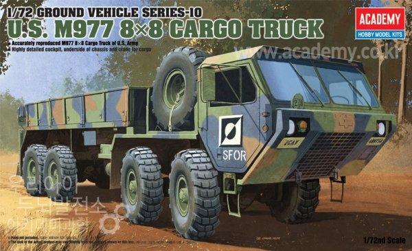 Academy 13412 M977 8x8 Cargo Truck (1:72)