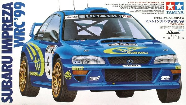 Tamiya 24218 Subaru Impreza WRC '99 (1:24)