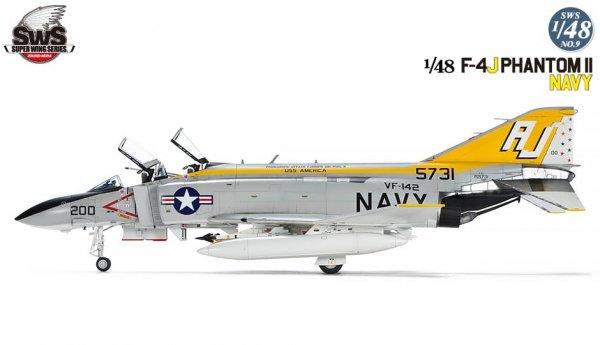 Zoukei-Mura SWS4809 F-4J Phantom II Navy 1/48