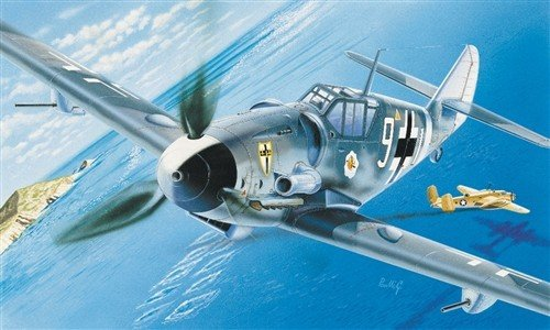 Italeri 0063 Messerschmitt BF-109 G-6 1/72