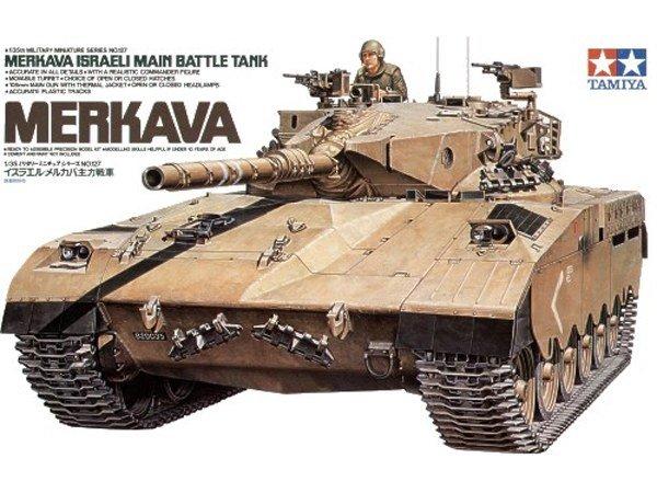 Tamiya 35127 Israeli Merkava Main Battle Tank (1:35)