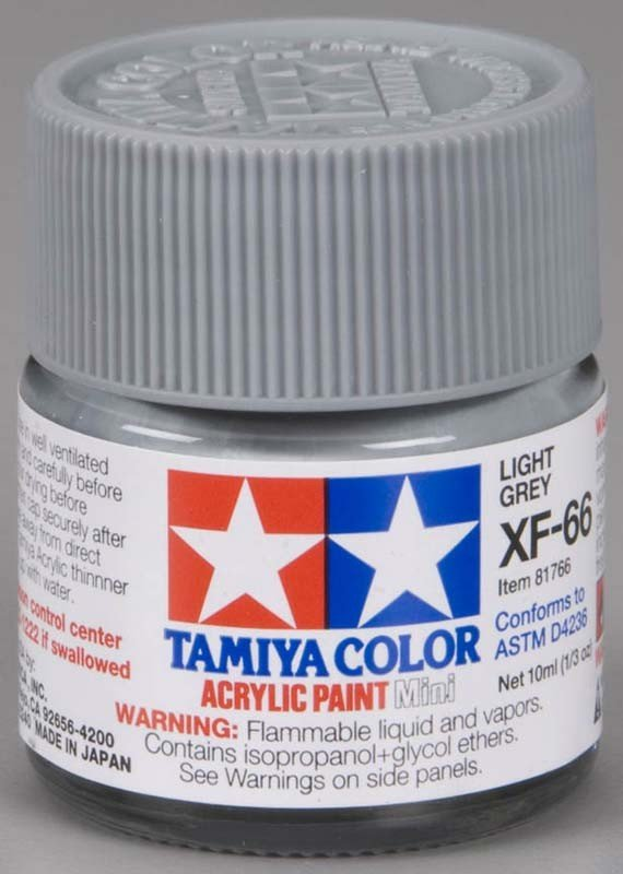Tamiya XF66 Light Grey (81766) Acrylic paint 10ml