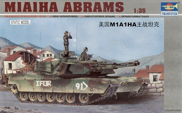 Trumpeter 00334 US M1A1HA Abrams (1:35)