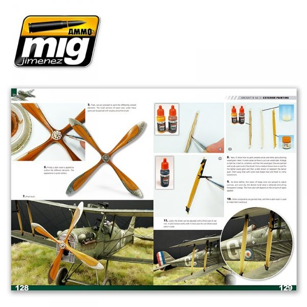 AMMO of Mig Jimenez 6052 ENCYCLOPEDIA OF AIRCRAFT MODELLING TECHNIQUES VOL.3: PAINTING (ENGLISH)