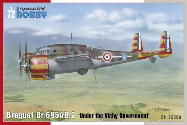 Special Hobby 72399 Breguet Br. 695AB.2 1/72