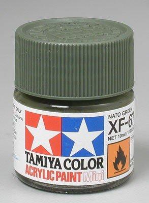 Tamiya XF67 NATO Green (81767) Acrylic paint 10ml