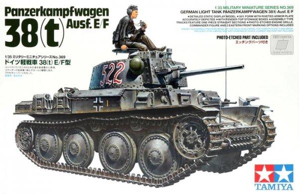 Tamiya 35369 Pz.Kpfw.38(t) Ausf. E/F 1/35