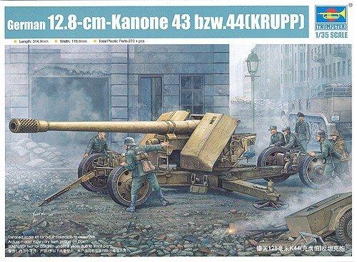 Trumpeter 02317 German 128mm Pak44(KRUPP) (1:35)