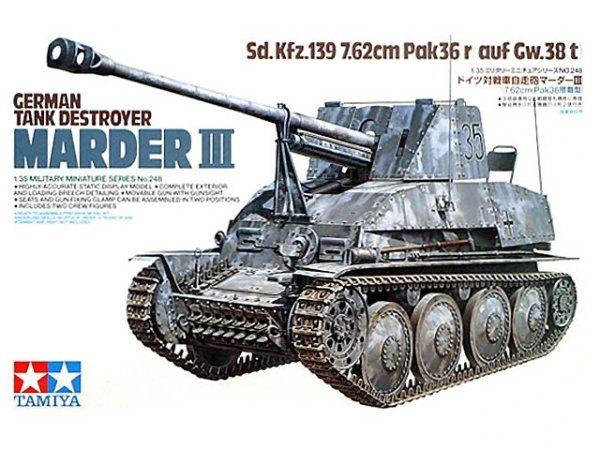 Tamiya 35248 German Tank Destroyer Marder III (1:35)