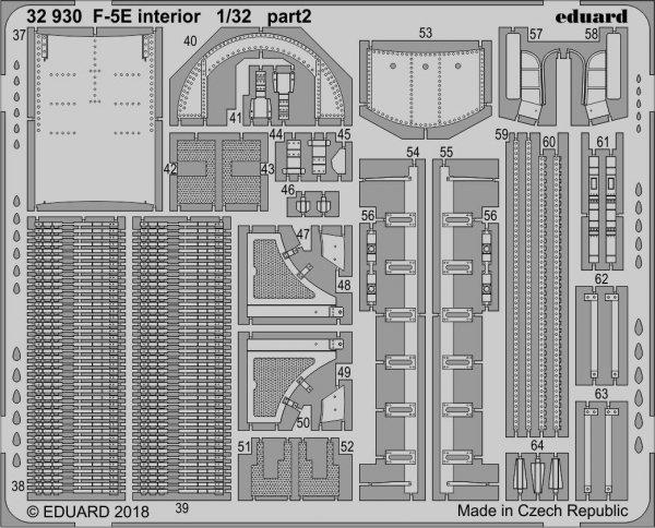 Eduard BIG3393 F-5E 1/32 KITTY HAWK