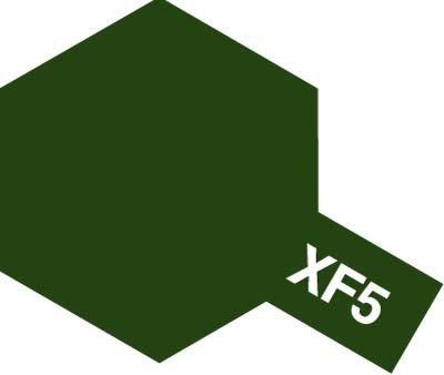 Tamiya XF5 Flat Green (81705) Acrylic paint 10ml