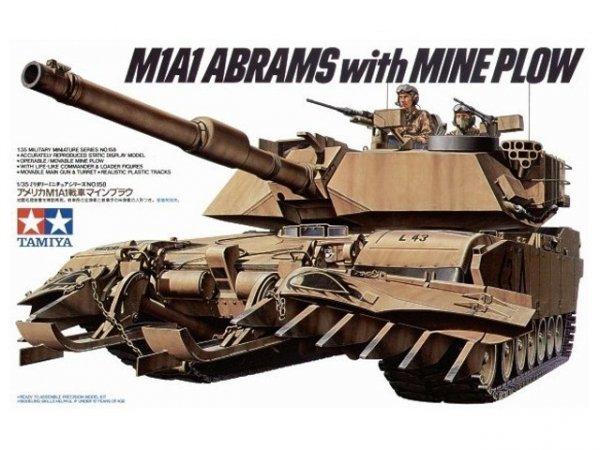 Tamiya 35158 U.S. M1A1 Abrams w/ Mine Plow (1:35)
