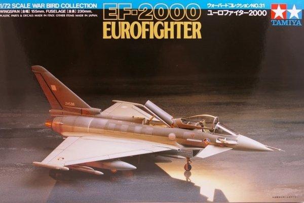 Tamiya 60731 EF-2000 Eurofighter (1:72)