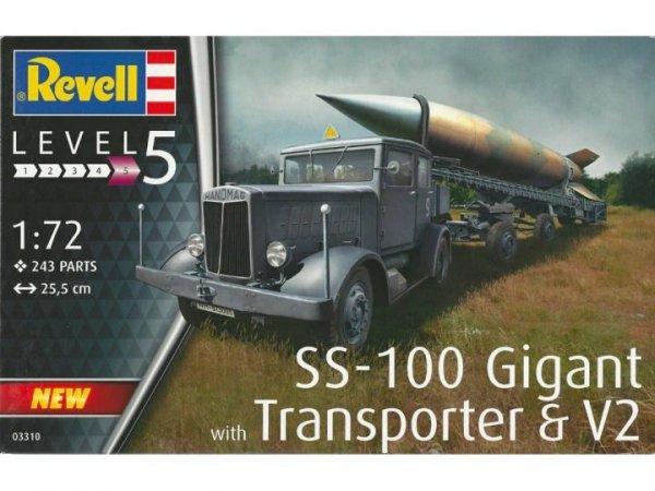 Revell 03310 SS-100 Gigant with Transporter 1/72