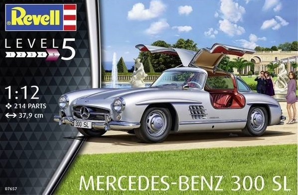 Revell 07657 Mercedes-Benz 300 SL 1/12