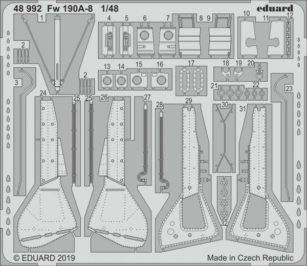 Eduard 48992 Fw 190A-8 1/48 EDUARD