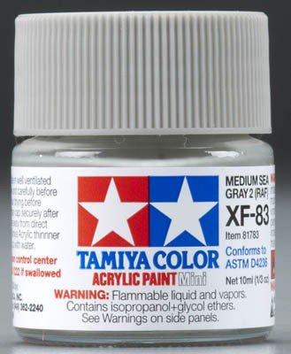 Tamiya XF83 Medium Sea Gray 2 RAF (81783) Acrylic paint 10ml