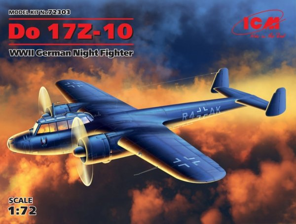 ICM 72303 Do 17Z-10 WWII German Night Fighter 1/72