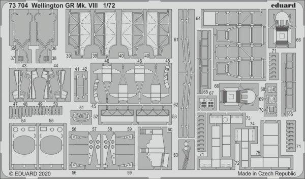 Eduard 73704 Wellington GR Mk. VIII for Airfix 1/72