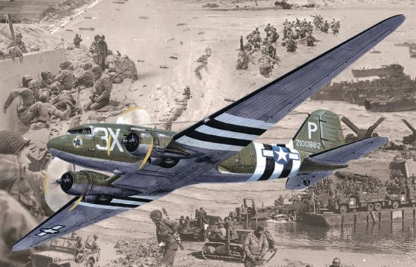 Roden 300 Douglas C-47 Skytrain (Dakota MK.III) 1/144