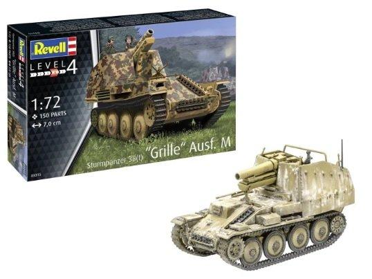 Revell 03315 Sturmpanzer 38(t) Grille Ausf. M 1/72