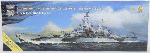 Very Fire VF700909DX USS Missouri BB-63 1944/1945 DX Version 1/700
