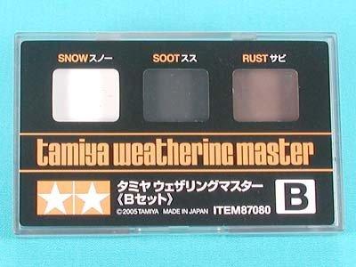 Tamiya 87080 Weathering Master B Set