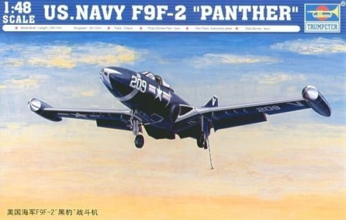 Trumpeter 02832 US.NAVY F9F-2 PANTHER (1:48)