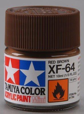 Tamiya XF64 Red Brown (81764) Acrylic paint 10ml