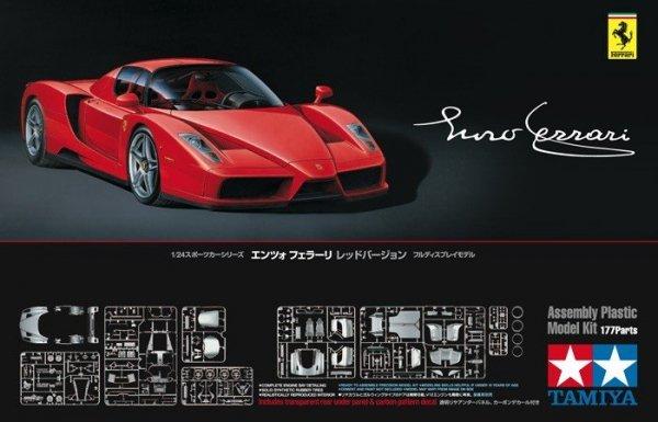 Tamiya 24302 Enzo Ferrari Rosso Corsa (1:24)