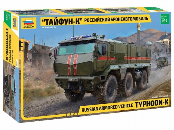 Zvezda 3701 Russian armored vehicle Typhoon-K 1/35