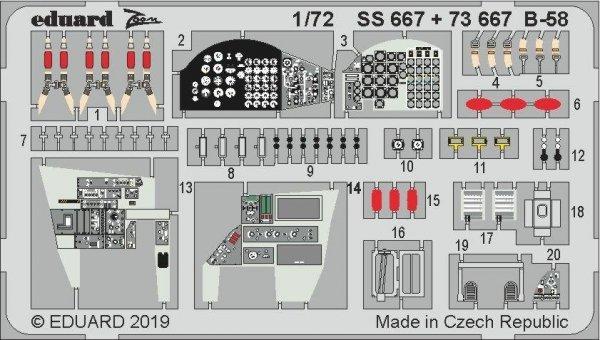 Eduard SS667 B-58 1/72 ITALERI