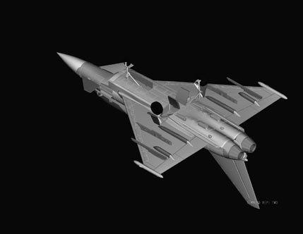 Hobby Boss 80265 EF-2000B Eurofighter Typhoon (1:72)