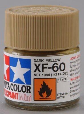 Tamiya XF60 Dark Yellow (81760) Acrylic paint 10ml