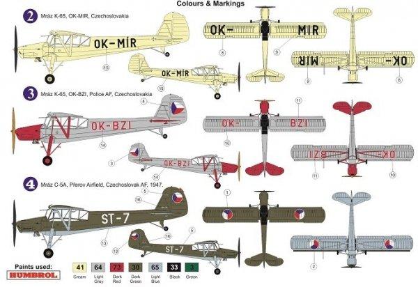 "AZ Model AZ7637 Mraz K-65/C-5 ""Cáp"" ""In Czechoslovak Service"" 1/72"