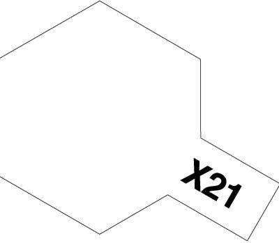 Tamiya X21 Flat Base (81521) Acrylic paint 10ml