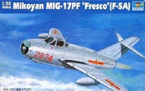 Trumpeter 02206 Mikoyan MiG 17PF Fresco F5A (1:32)