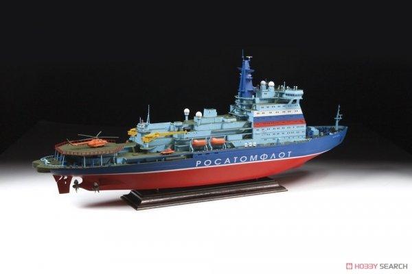"Zvezda 9044 Russian Nuclear Icebreaker ""Arktika"" Project 22220 1/350"
