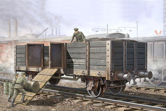 Trumpeter 01517 German Railway Gondola 1/35