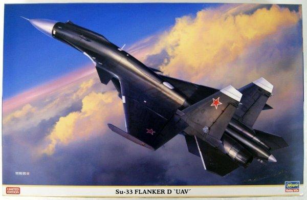 "Hasegawa 02313 Su-33 Flanker D ""UAV"" 1/72"