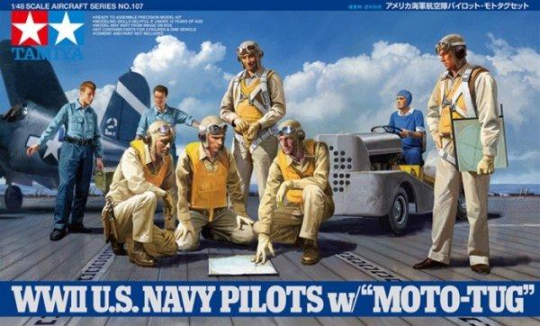 Tamiya 61107 U.S. Navy pilot figures NEW RELEASE (1:48)